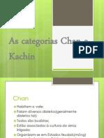 As Categorias Chan e Kachin