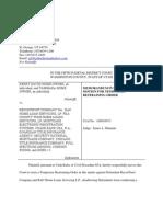 Redacted Memorandum in Support of Motion for Tro.1