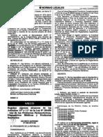 Regulan algunos alcances de los Artículos 10° y 11° de la ley N° 29459 - Ley de los Productos Farmacéuticos, Dispositivos Médicos y Productos Sanitarios.