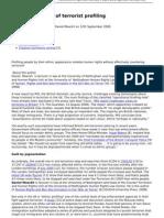 2008-09-12 - The Impossibility of Terrorist Profiling