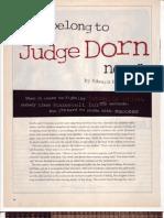 You Belong to Judge Dorn Now