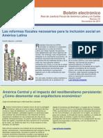 Boletin Red de Justicia Fiscal de América Latina y el Caribe