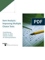 Item Analysis2