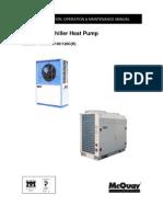 Minichiller HP IOM MAC070C