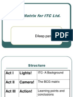 22310334 BCG Matrix for ITC Ltd