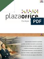 Plaza Offices Campo Garnde | Portal Imoveis Lancamentos