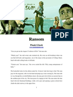 Ransom, a short thriller by Pinaki Ghosh