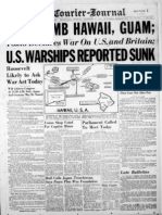 Pearl Harbor Front Page