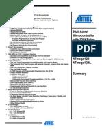 AVR Atmega128 Datasheet Summary