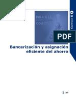 Bancarización y asignación eficiente del ahorro