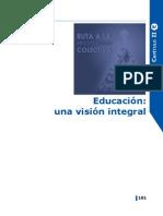 Educación una visión integral