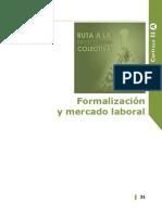 Formalización y mercado laboral