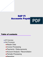 Sap Fi Accounts Payable