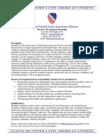 LULAC Resource Development Internship