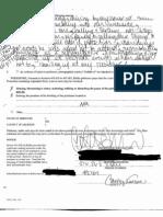 Petition for Restraining Order Pg. 2