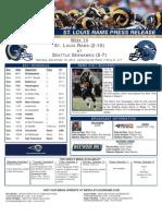 Week 14 - Rams at Seahawks