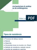 Resistência bacteriana