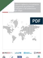 marco para la vigilancia y evalaución PV onusida