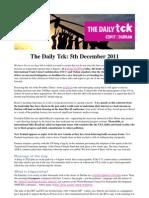 COP17 Daily Tck 7 5/Dec