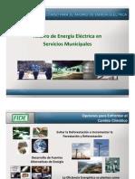 FIDE Ahorro Energia en Municipios