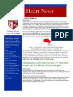 Sacred Heart News 12-05-2011