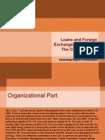 Loan & Foreign Exc. [Interns Presentation] City Bank