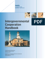 Intergovernmental Cooperation Handbook