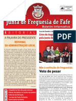 Boletim Informativo N.º 25 - Novembro/2011