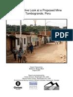 Moran, Robert E. (2001) A Proposed Mine in Tambogrande Peru, An Alternative Look [Oxfam America]