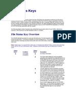VSAM File Status Keys