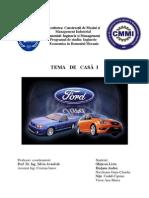 Compania Ford Motor Este Una Dintre Cele Mai Import Ante Si Cunoscute Marci