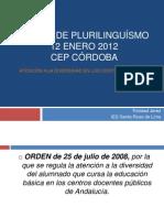 I FERIA DE PLURILINGUÍSMO