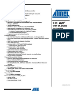 ATMega8 Datasheet