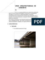Estructuras Arquitectonicas de Concreto