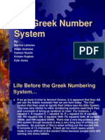 18 Greek Number System PP