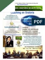 Coaching en Oratoria | Curso Privado de Alto Nivel | Oratoria en Lima Perú