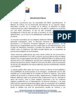 DIRIGENTE DE ANFUCULTURA DENUNCIA  PERSECUCIÓN DE MINISTRO CRUZ COKE Y ANUNCIA DEMANDA