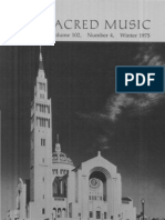 Sacred Music, 102.4, Winter 1975; The Journal of the Church Music Association of America