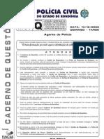 Prova Da Policia Civil de Rondonia