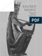 Sacred Music, 102.2, Summer 1975; The Journal of the Church Music Association of America