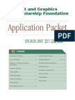 Print and Graphics Scholarship App