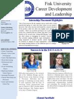 Career Development and Leadership Highlights_December 2011