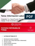 11-11-16 Módulo V - Información Laboral
