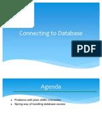 Database Connectivity