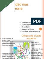 Critica- Propuesta Ciudad Mas Humana