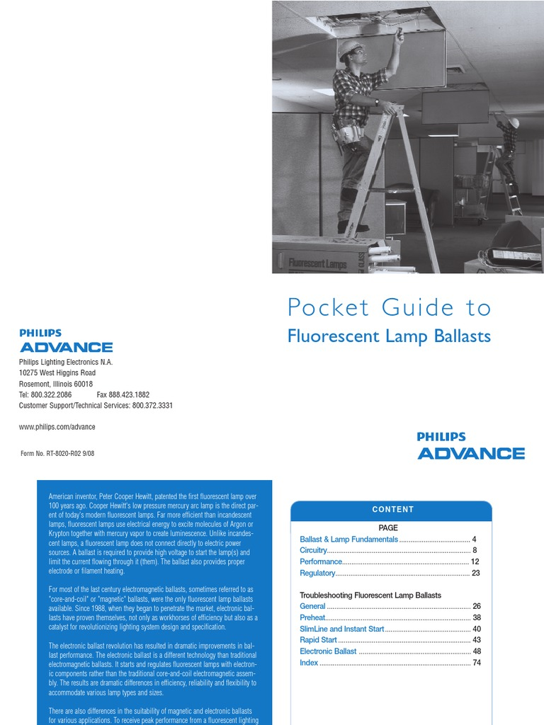 Pocket Guide To Flourescent Lamp Ballasts Fluorescent Advance Ballast Wiring Diagram Electromagnetic Interference