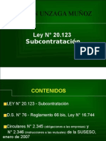 LEY 20123 PRESENTACION