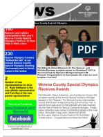 Monroe County Special Olympics Newsletter Fall 2011