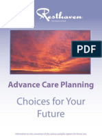 Advanced Care Planning - Choices for Your Future