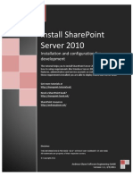 Install Share Point 2010